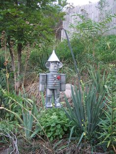 """The Tin Man"" Craft Upcycle"