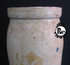 Vintage Stoneware Crock No. 1 by ReEmporium on Etsy