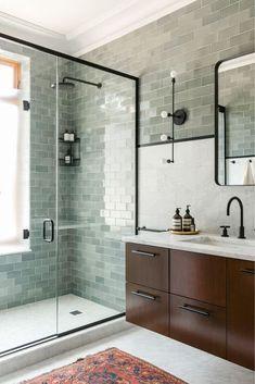 Newest Pics Ceramics Tile bathroom Concepts Erstaunliche Marmor-Badezimmer-Fliesen-Design-Ideen bathroomideas bathroomremodel …, Marble Tile Bathroom, Bathroom Tile Designs, Modern Bathroom Design, Bathroom Interior Design, Small Bathroom, Marble Tiles, Bathroom Flooring, Bathroom Ideas, Shower Tiles