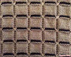 Резинка 1х1: попеременно 1 лицевая петля, 1 изнаночная петля, в изнаночных рядах вяжем, как выглядят петли. Лицевая гладь: в лицевых рядах – лицевые петли, в изнаночных – изнаночные.
