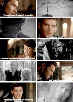 Klaus and Esther The Originals Season 2