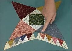 Fons Porter demonstrate tips and tricks for creating this vintage pattern. Marianne and Liz show how to construct the pine burr block, how to achieve precise points on #patchwork pieces, and how to set-in pieces.