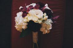 elizabeth + sam — purple and white bouquets - real colorado wedding