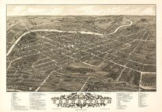 Youngstown Ohio 1882 reprinted  vintage map https://www.etsy.com/listing/81054045/vintage-map-youngstown-ohio-1882? #youngstown #Ohio