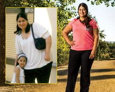 How one woman lost more than 75 pounds using 3 simple tricks.