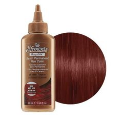 Silk Elements Semi-Permanent Hair Color Red Hot Red
