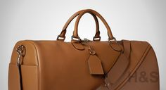 12 Days of Gear: Loewe Leather Duffel Bag - http://hunterandsons.com/gear/12-days-of-gear-loewe-leather-duffel-bag/