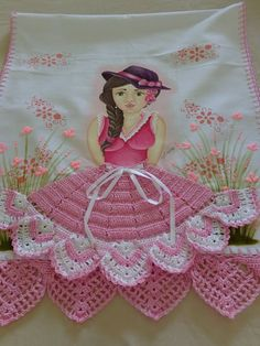 Crochet Patterns Hats Doll Clothes 49 Ideas For 2019 Crochet Edging Patterns, Crochet Lace Edging, Crochet Doilies, Crochet Baby Poncho, Crochet Beanie, Crochet Shawl, Crochet Gifts, Crochet Projects, Doll Clothes