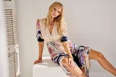 The ultimate summer maxi dress from Jaase in one of their best selling prints 'Arlette'. Looks like heaven, feels heavenly to wear. Bohemian Style Clothing, Summer Maxi, Heavenly, Vintage Inspired, Boho Chic, Wrap Dress, Feels, Kimono Top, Boutique
