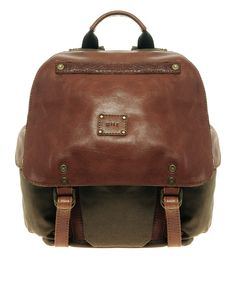 Will leather goods backpack.