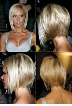 Victoria Beckham Angled Bob | Casual, Everyday | Careforhair.co.uk