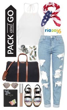 """""""GomezRio"""" by gomezel ❤ liked on Polyvore featuring FOSSIL, T. Anthony, Boohoo, Topshop, Wildfox and Sonix"""