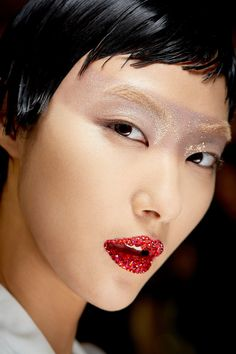 Chiristian Dior spring 2013 couture makeup