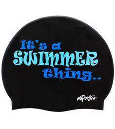 Dolfin Swim Thing Silicone Swim Cap