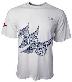 Mantas Tennis Tee Short Sleeves Colors: Light Aqua, Light Grey  Sizes: S - 2XL