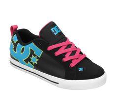 Womens Court Graffik Vulc Shoes - DC Shoes