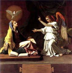 The Annunciation | Nicolas Poussin | 1655