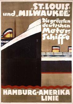Hamburg-Amerika Linie ~ Ottomar Anton