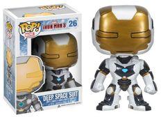 Funko POP Marvel Iron Man Movie 3: Space Suit Action Figure http://popvinyl.net #funko #funkopop #popvinyls