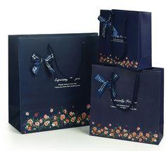 New fancy custom logo printed shopping bag gift paper - Gift Paper ...
