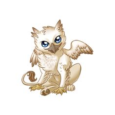 The Hippogryph are a Hybrid critter, and can result from a breeding of a Gryphon and a Pegasus. Animal Art, Animal Drawings, Drawings, Fantasy Art, Creature Art, Art, Cute Dragons, Fantasy Tattoos, Mythical Creatures Art