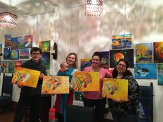 Learn to paint and enjoy a glass of wine at Vine & Canvas. We will guide you in duplicating the night's highlighted painting. Take home your own Masterpiece! Paint And Sip, Paint Party, Learn To Paint, Vines, Leo, Horses, Artists, Canvas, Painting