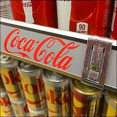 Coca-Cola Branded C-Channel Grip Clip Coca Cola Brands, Retail Fixtures, Channel, Logo, Red, Logos, Logo Type