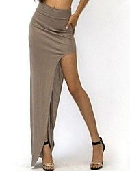 Women's High Waisted Side Open Long Skirt Save up to 80% Off at Light in the Box using coupon and Promo Codes.