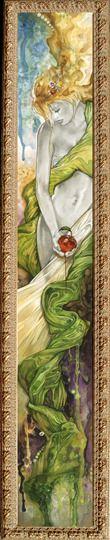"Saatchi Online Artist: Tom Fleming; Watercolor 2007 Painting ""Eve"""
