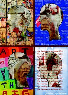 christmascard mixed media by ansjejoanna