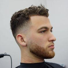 curly fade haircut