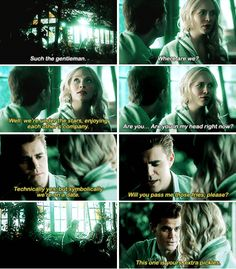 """#TVD 7x13 """"This Woman's Work"""" - Stefan and Caroline"""