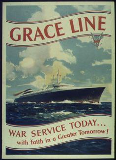 Grace Lines - 1940 ad