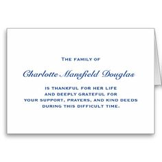 Preprinted Personalized Wordings vs. Hand Written Thank You Note ...