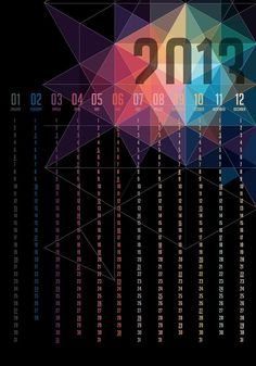 Calendar Design 2013.