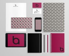 Personal Brand Identity by Alessia Bonito Oliva, via Behance. - simple color scheme (different colors for me, but great inspiration) Corporate Design, Brand Identity Design, Branding Design, Identity Branding, Corporate Identity, Visual Identity, Branding Ideas, Graphic Design Print, Graphic Design Typography
