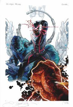 A Man's Dream... Will Never Die ! : artverso:   Simone Bianchi - X-Men