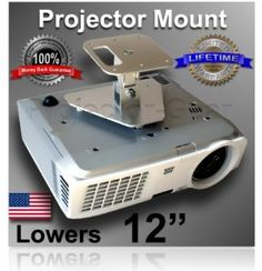 998700b0cbe Projector-Gear Projector Ceiling Mount for BENQ MW721 with 12
