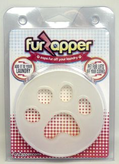 Got Dog or Cat Hair on your Clothes? FurZapper removes pet hair from your clothing while you wash and dry your clothes. The top pet hair remover for washers and dryers