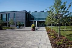 Unilock - Cornell Community Centre and Library with Il Campo paver and Series3000 in Ontario