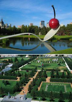 Minneapolis Sculpture Garden - cool public art