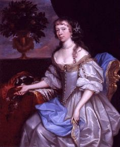 1660 Elizabeth FitzGerald, née Holles, Countess of Kildare by John Michael Wright