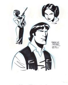 Bruce Timm, Star Wars sketches