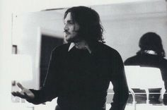 John Frusciante of the Red Hot Chili Peppers during the recording of By the Way, c. Soul To Squeeze, John Frusciante, Dear John, Black N White Images, Black Sabbath, Led Zeppelin, Sexy Men, Hot Men, The Beatles