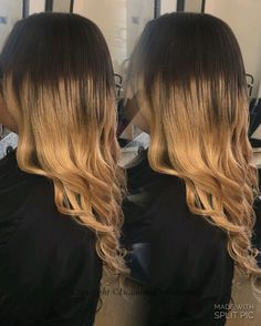 Ombre weave using diamond dolls 7agrade Brazilian hair available at diamond dolls beauty, Derby