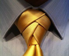 Eldredge Tie Knot - For manly men