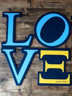 LOVE Alpha Xi Delta IttXi Letters. $20