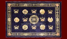 ANTIQUE TIBETAN RUG	cm 207 x 134	ft 6'8 x 4'4 Cod:: 141126655244