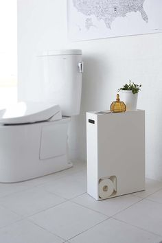 Where to Put all That Toilet Paper in Your Teeny-Tiny Bathroom