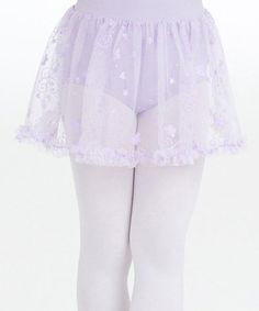Another great find on #zulily! Lavender Embroidered Tulle Skirt - Toddler & Girls #zulilyfinds